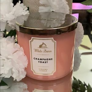 New BBW 3 Wick Candle CHAMPAGNE TOAST